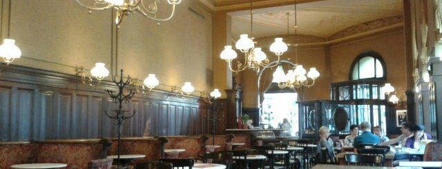 Café Sperl is one of Vienna.
