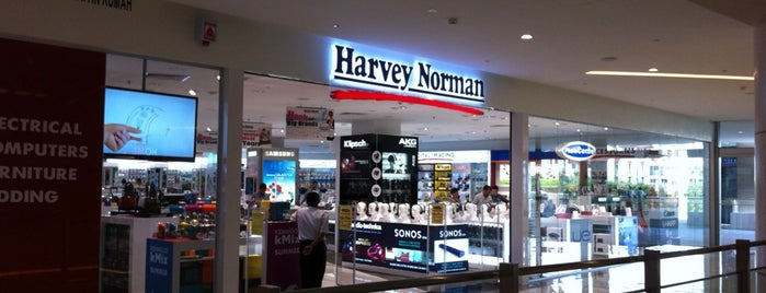 Harvey Norman is one of Gurney Paragon.