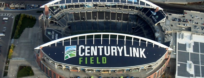 CenturyLink Field is one of 2 do list # 2.