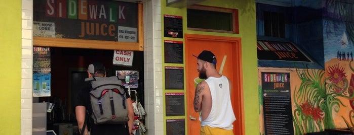 Sidewalk Juice is one of San Francisco Scrapbook.