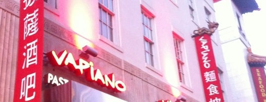 Vapiano is one of Must-visit food in DC.