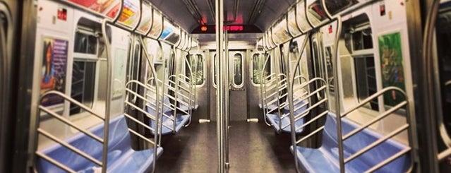 MTA Subway - R Train is one of NY - MTA Subway Trains.