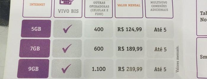 Vivo is one of Beiramar Shopping.