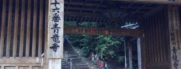 独鈷山 伊舎那院 青龍寺 (第36番札所) is one of 四国八十八ヶ所霊場 88 temples in Shikoku.