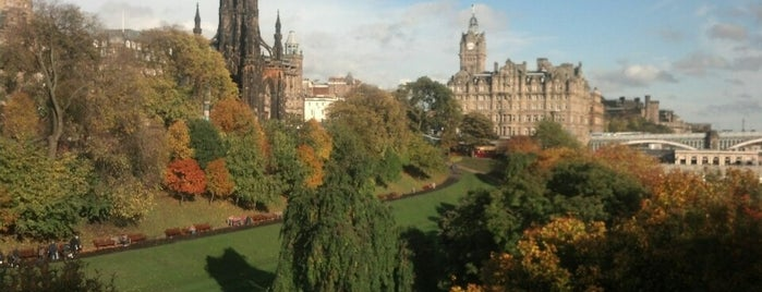 West Princes Street Gardens is one of Edinburgh.