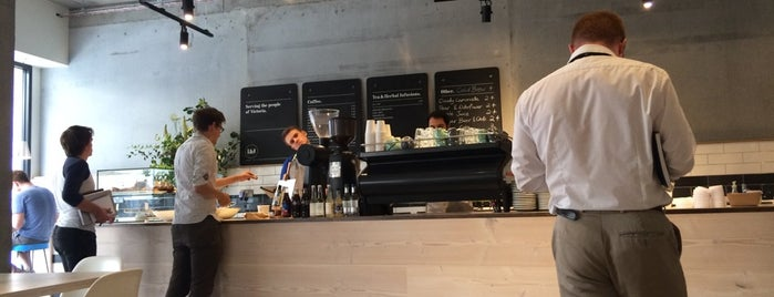 Iris & June is one of 100+ Independent London Coffee Shops.