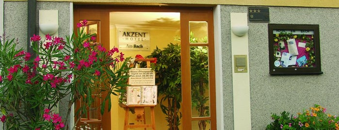AKZENT Hotel Am Bach is one of AKZENT Hotels e.V..