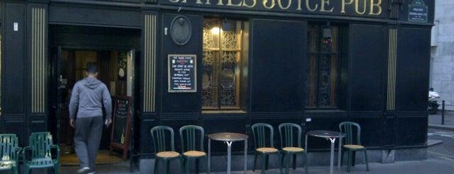 James Joyce Pub is one of Bars du Jeudi.