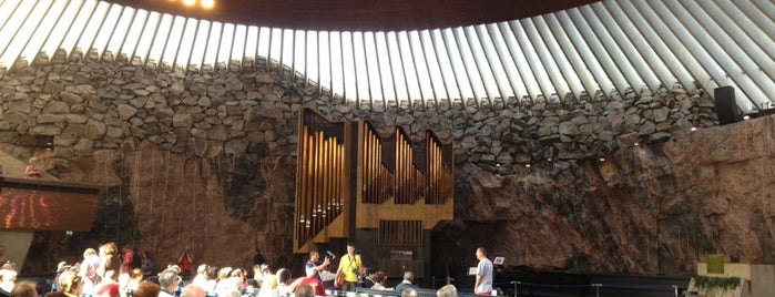 Temppeliaukio is one of Attractions to Visit.