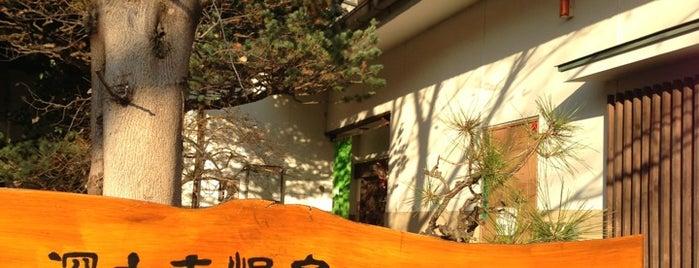 深大寺天然温泉 湯守の里 is one of Tokyo Onsen.