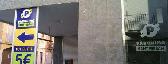 Parking Sant Ferran is one of Parkings Reus.