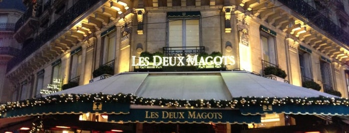 Les Deux Magots is one of Paris-to do.