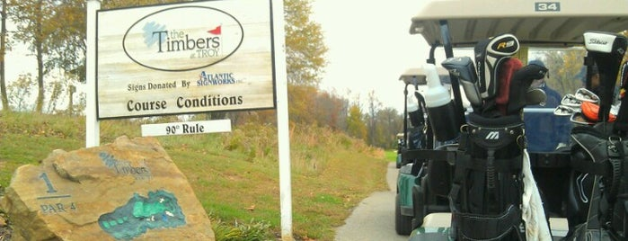 The Timbers at Troy Golf Course is one of Must-visit Golf Courses in Baltimore.