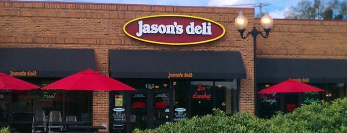 Jason's Deli is one of Love to go.