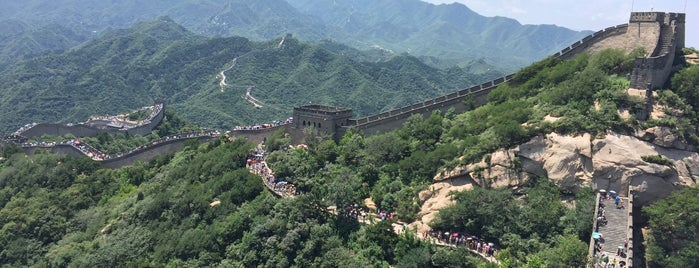 Great Wall Of China | 万里长城 is one of Peking.