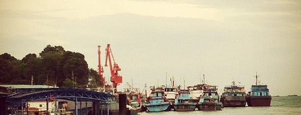 Pelabuhan Telaga Punggur is one of Kepri.
