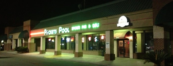 Pocket's Pool & Sports Pub is one of BEST Places in Tallahassee.