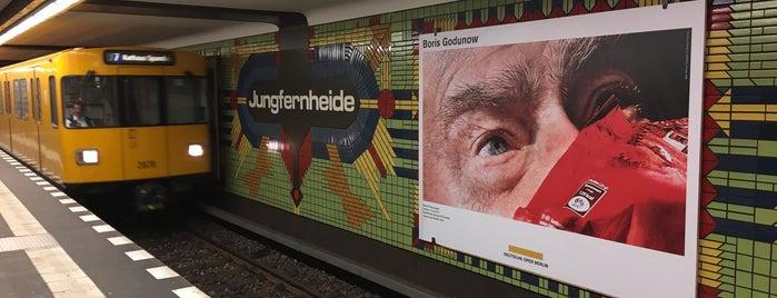 U Jungfernheide is one of U-Bahn Berlin.
