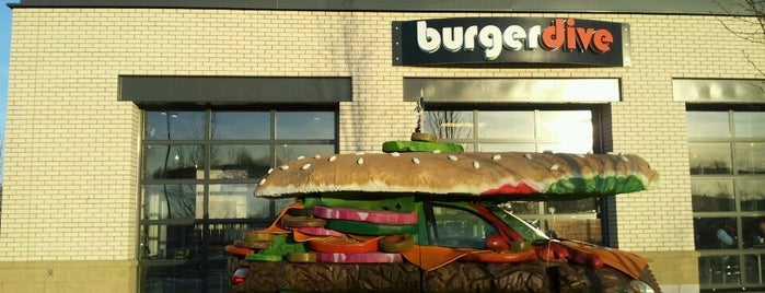 Burger Dive is one of Boston's Gluten-Free Eats.