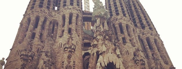 Sagrada Família is one of Barthelona.