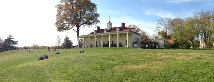 George Washington's Mount Vernon is one of Documerica.