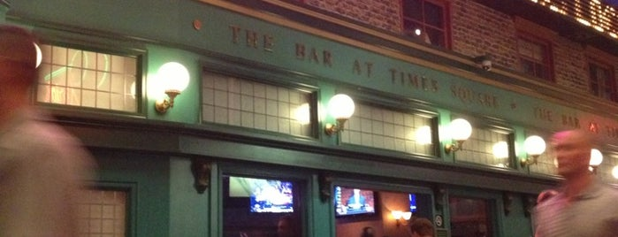 The Bar at Times Square is one of Check-In.