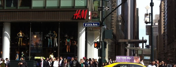 H&M is one of NYC.