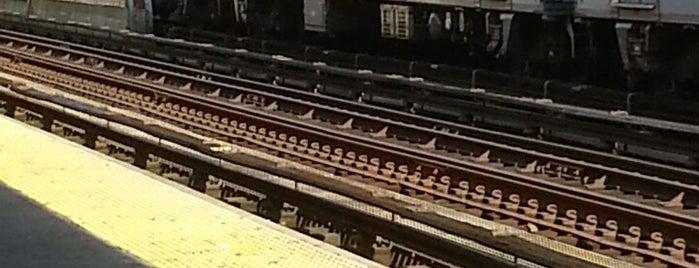 MTA Subway - M Train is one of NY - MTA Subway Trains.