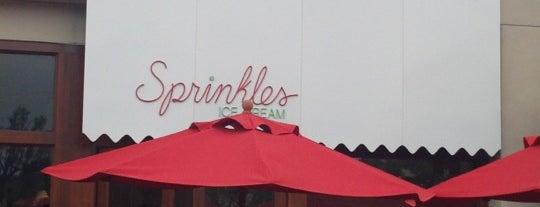 Sprinkles Ice Cream is one of Favorite Food.