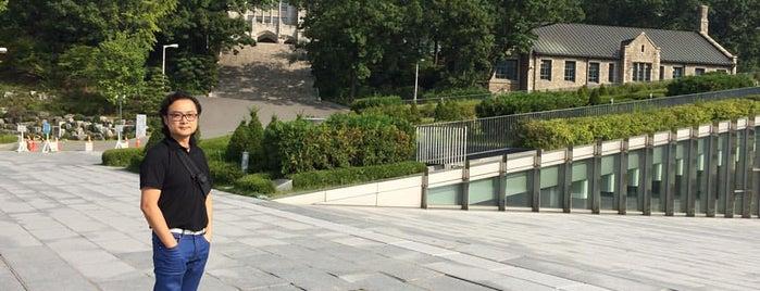 이화여자대학교 생활관 (Ewha Womans University Residence Hall) is one of 이화여자대학교 Ewha Womans University.