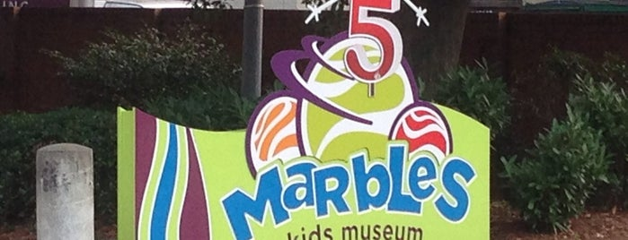 Marbles Kids Museum is one of Science, Art & History.
