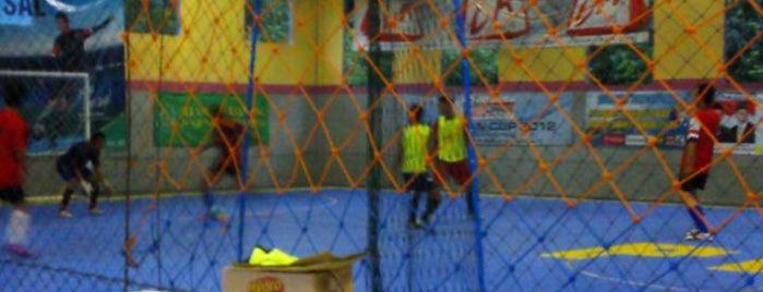 PMC Futsal (International Futsal Court In Kab. Tabalong Kalsel) is one of Lapangan Futsal.