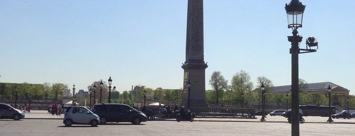 Place de la Concorde is one of Paris, FR.