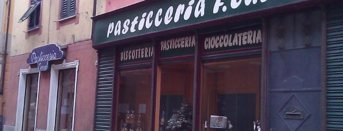 Pasticceria Carrea is one of Novi Ligure e il Novese: un territorio da gustare.