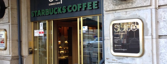Starbucks is one of Free WLAN.