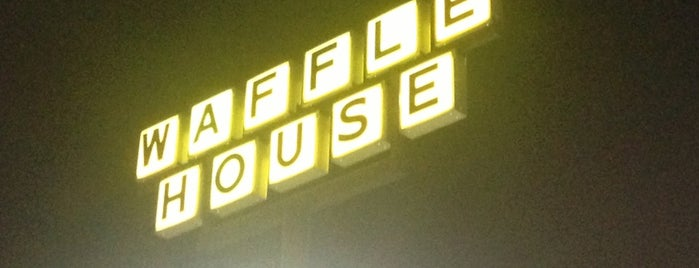 Waffle House is one of Man vs Food Badge.