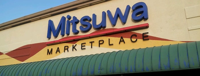 Mitsuwa Marketplace is one of Places I love to eat at.