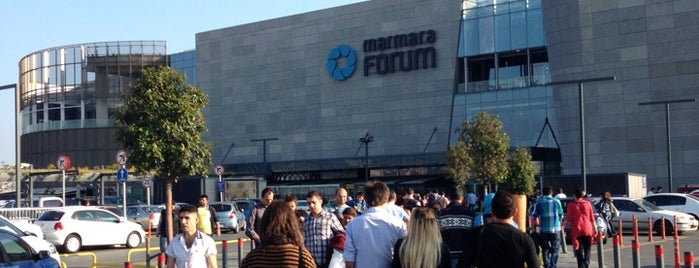 Marmara Forum is one of My favorites Malls.