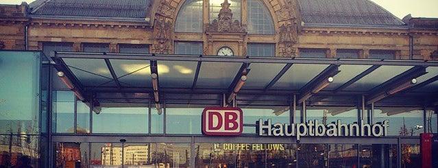 Halle (Saale) Hauptbahnhof is one of Ausgewählte Bahnhöfe.