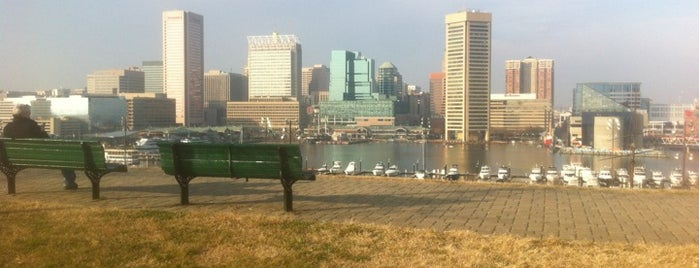 Federal Hill Park is one of Star-Spangled Sites.