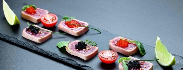 Nobu is one of Sushi. Kyiv. Японская кухня.