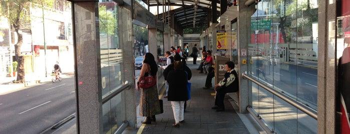 Metrobús Sonora L1 is one of Mis lugares en México DF.