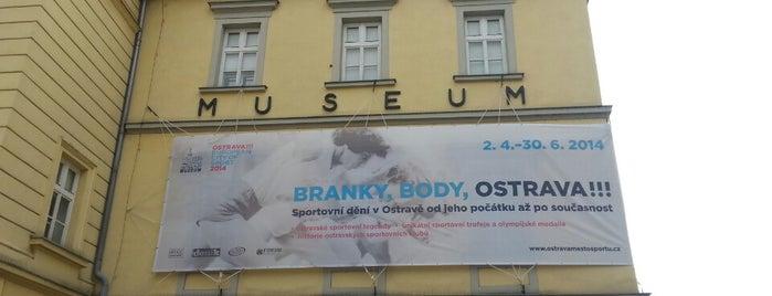 Ostravské Muzeum is one of Čekovací muzejní noc v Ostravě 2012.