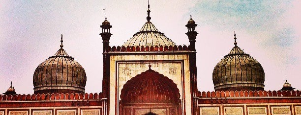 Jama Masjid is one of India places to visit.