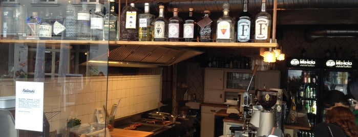 Kalinski Wurstwirtschaft & Gin Bar is one of my todos - Bars.