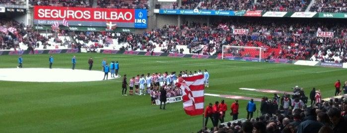 San Mamés is one of let's get Bilbao's badge (Spain) #4sqCities.