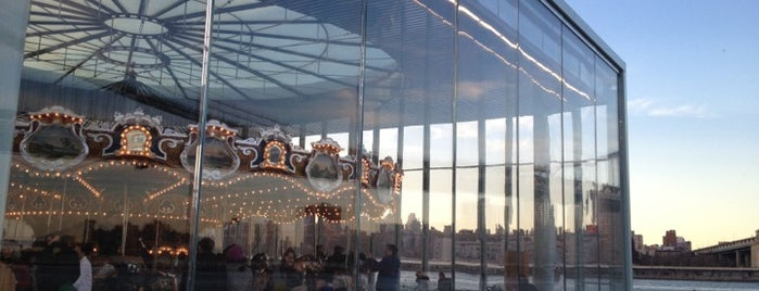 Jane's Carousel is one of A Guide To NYC's Carousels.