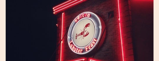 Boston Lobster Feast is one of Feed up.