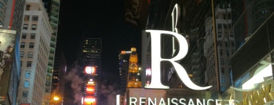 Renaissance New York Times Square Hotel is one of Ren.