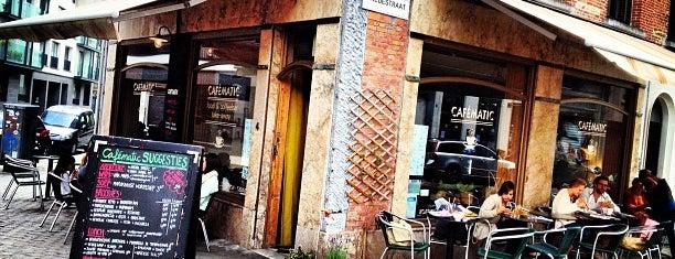 Cafématic is one of Gent // Brussel // Antwerpen.